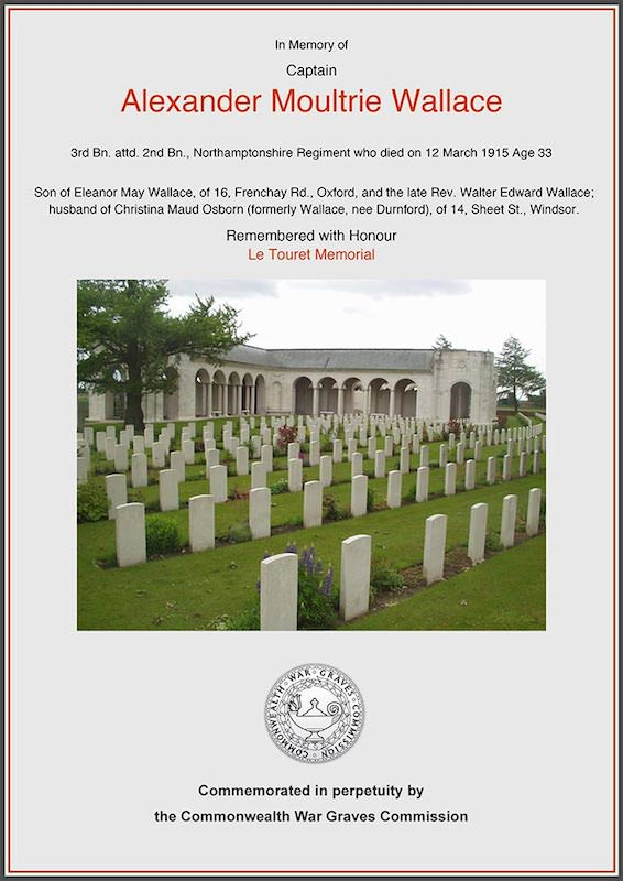 CWGC Commemoration